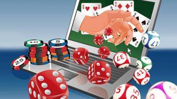 ordinateur casino dé jetons cartes